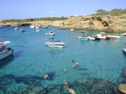 Bucht von Cala Conta - Cala Conta