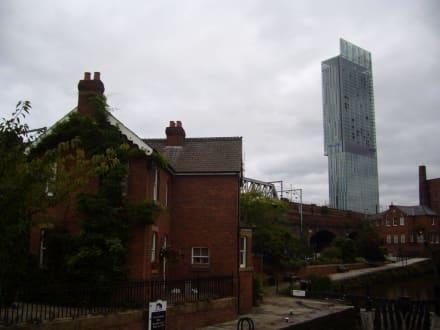 Castlefield und Hotel Hilton - Castlefield