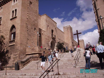 Aufgang zum Schloß - Königspalast L'Almudaina