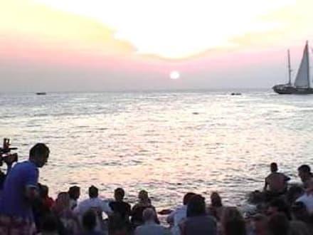 Sonnenuntergang Cafe del Mar - Cafe del Mar