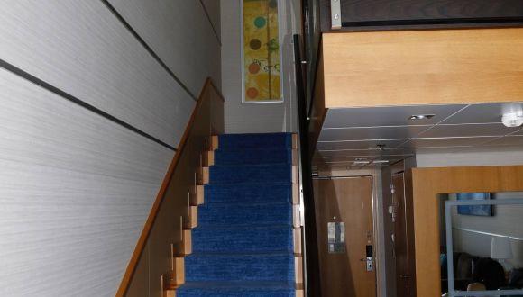 Crown Loft Suite Aufgang