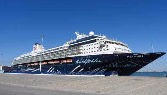 Die Mein Schiff 2 auf Fuerteventura