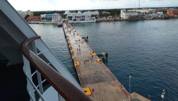Pier von Cozumel