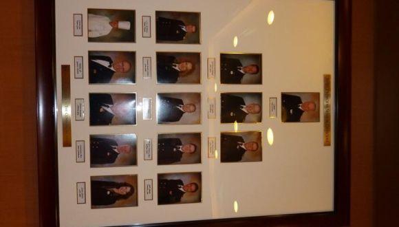 Fotos der Offiziere