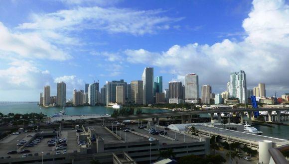 Ankunft in Miami