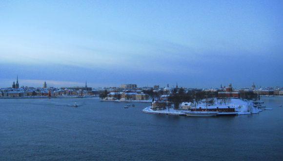 Ankunft in Stockholm