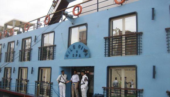 Eingang der Nile Diva