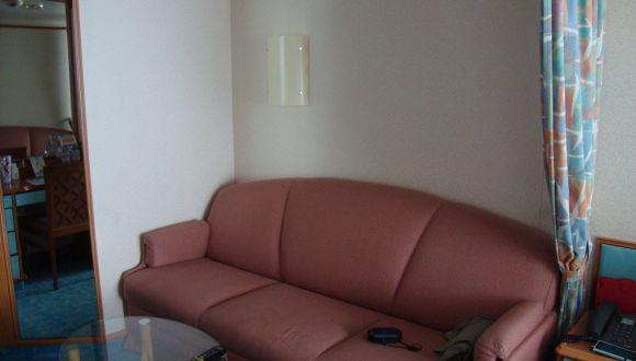Balkonkabine Sofa