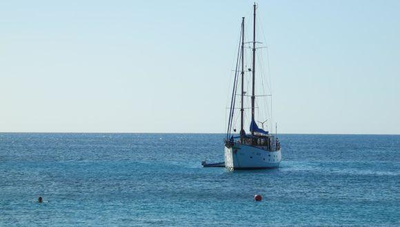 Horta vor der Insel Mayreau