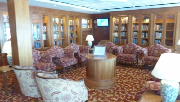 Ruhige Bibliothek