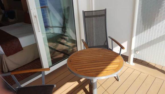 Balkon Kabine 6104