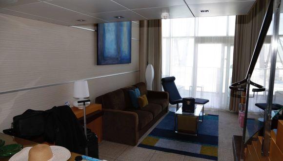 Crown Loft Suite Wohnzimmer