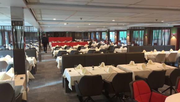 Das restaurant nach Renovierung 2018