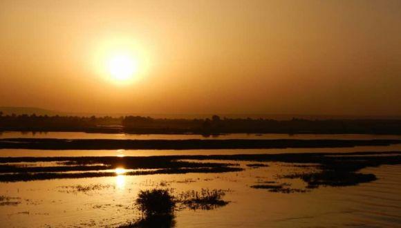 Sonnenuntergänge am Nil sind Weltklasse!
