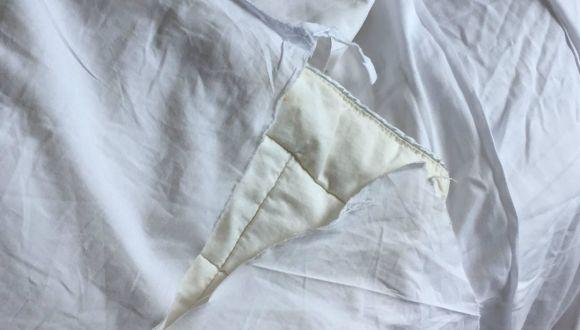 Zerrissene Decken