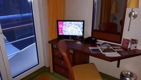 Kabine - Schreibtisch