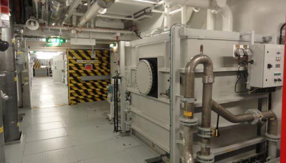 Einblick in den Maschinenraum