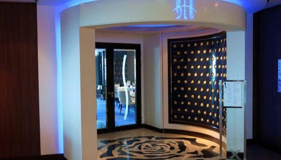 Eingang zum Restaurant Blu