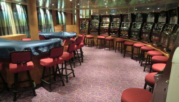 Kleines Casino, sehr schlecht besucht