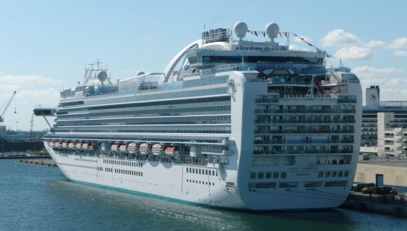 Ruby Princess in Port Everglades