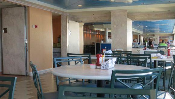Buffetrestaurant, Platzangebot gu