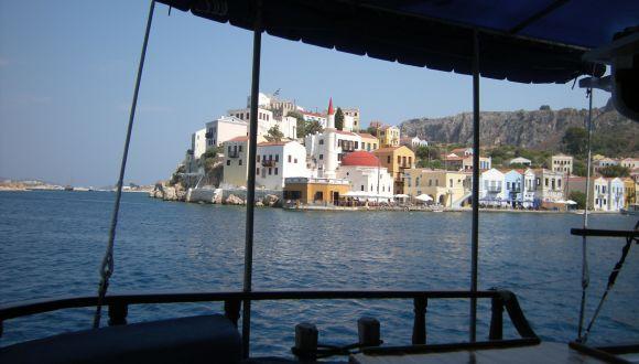 Einfahrt nach Griechenland