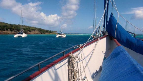Bei den Tobago Cays