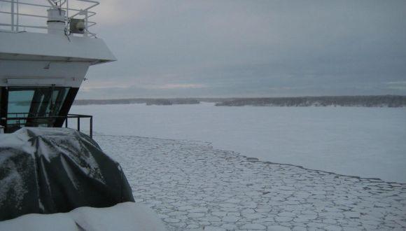 Ausblick ins Eis