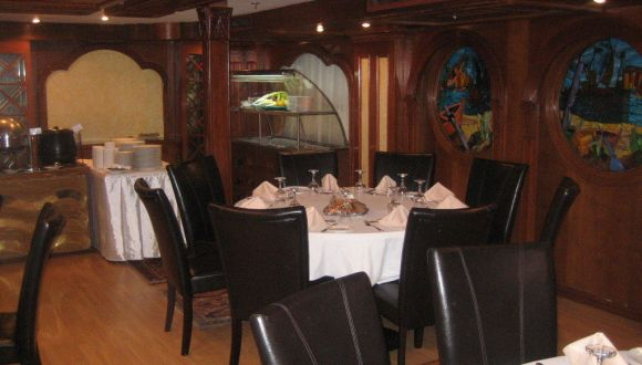 Speisesaal auf der Nile Diva