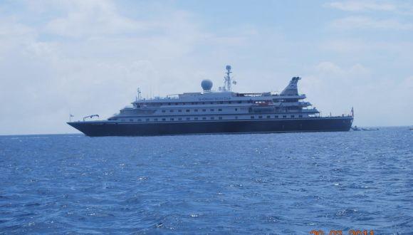 Sea Dream Yacht Club in St. Barth