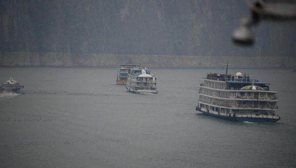 Unterwegs auf dem Jangtse-Fluss!
