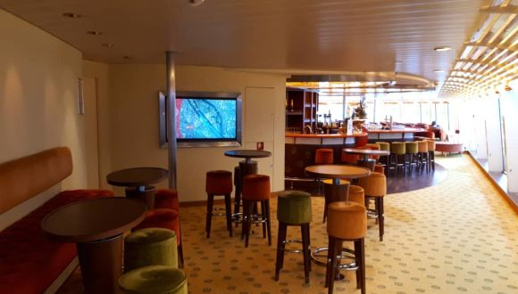 Barhocker in der Lounge Bar