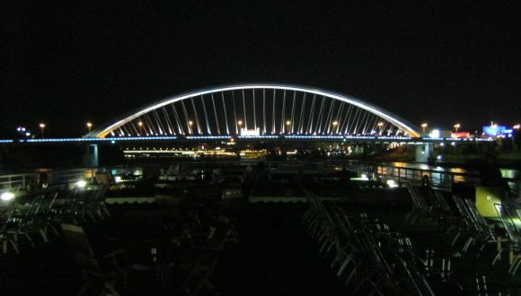 Regenbogenbrücke in Bratislava