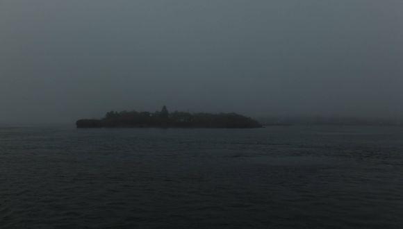 Leider schlechtes Wetter in der Bay of Fundy