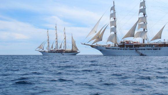 Fotosafarie um die Sea Cloud & Sea Cloud II