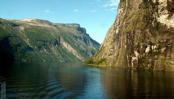 Geirangerfjord/Norwegen