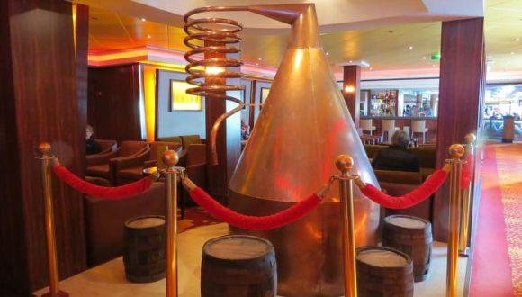 Whisky Bar, hier war es ruhig