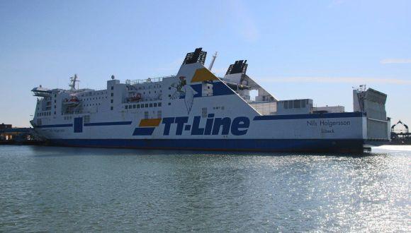 Fährhafen von Trelleborg
