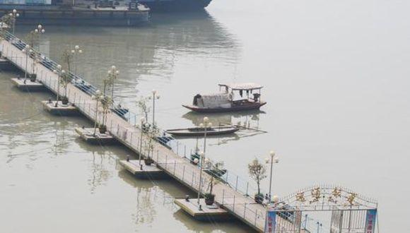 Die Blue Whale vor Fengdu