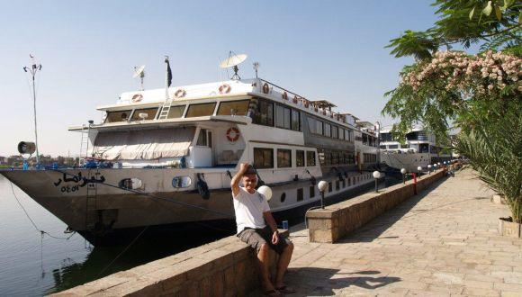 Anlegestelle in Luxor