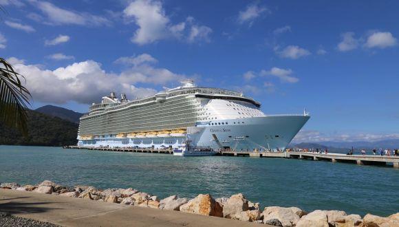Oasis of the Seas auf Labadee - Haiti