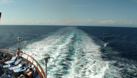 Eindrücke vom Schiff