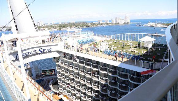 Crown Loft Suite - Ausblick vom Balkon