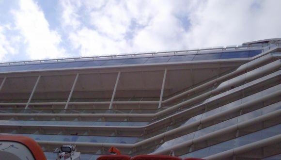 Überhang über der Aquaclass