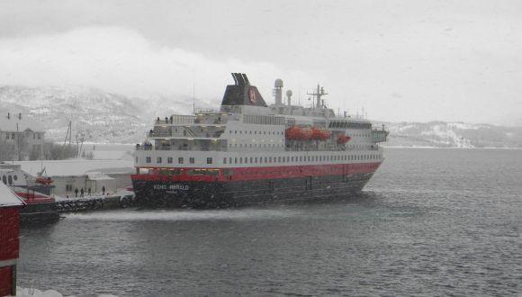 Winterlandschaft im Polarkreis