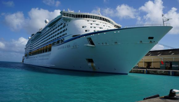 Adventure of the Seas auf Barbados