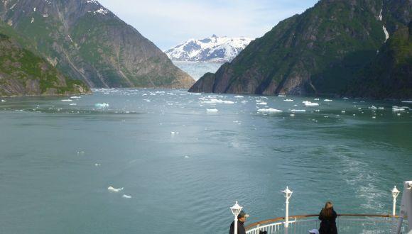 Fahrt zu den Gletschern