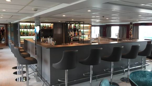 Bar nach der Renovierung 2018