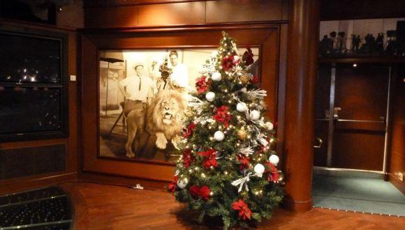 Lounge - Weihnachtliche Dekoration