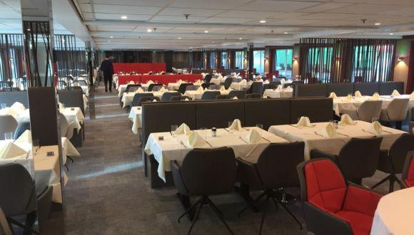 Restaurant nach Renovierung